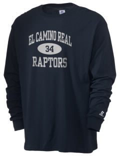 El Camino Real High School Conquistodores  Russell Men's Long Sleeve T-Shirt
