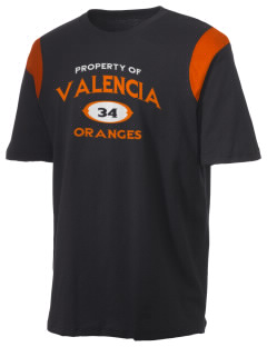 Valencia Elementary School Oranges Holloway Men's Rush T-Shirt