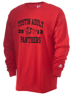Tustin Adult School Panthers  Russell Men's Long Sleeve T-Shirt