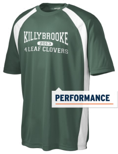 Killybrooke Elementary School 4 Leaf Clovers Men's Dry Zone Colorblock T-Shirt