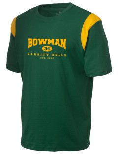 Bowman Elementary School Bulls Holloway Men's Rush T-Shirt