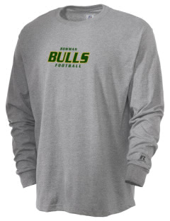 Bowman Elementary School Bulls  Russell Men's Long Sleeve T-Shirt