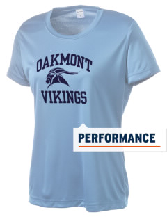 Oakmont High School Vikings Women's Competitor Performance T-Shirt