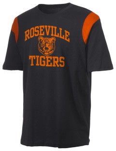 Roseville High School Tigers Holloway Men's Rush T-Shirt