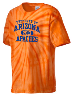 Arizona Intermediate School Apaches Kid's Tie-Dye T-Shirt