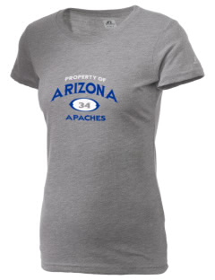 Arizona Intermediate School Apaches  Russell Women's Campus T-Shirt
