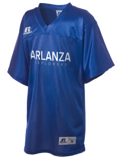 Arlanza Elementary School Explorers Russell Kid's Replica Football Jersey