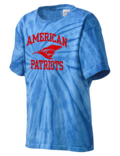 American High School Patriots Kid's Tie-Dye T-Shirt