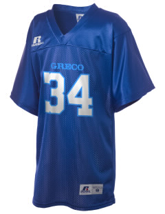 Greco Middle School Lion Cubs Russell Kid's Replica Football Jersey