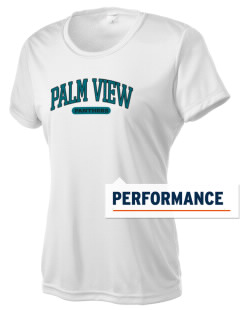 Palm View Elementary School Panthers Women's Competitor Performance T-Shirt