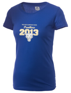 Palm View Elementary School Panthers  Russell Women's Campus T-Shirt