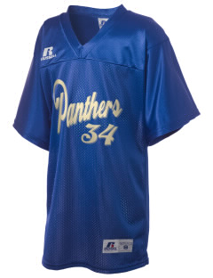 Palm View Elementary School Panthers Russell Kid's Replica Football Jersey