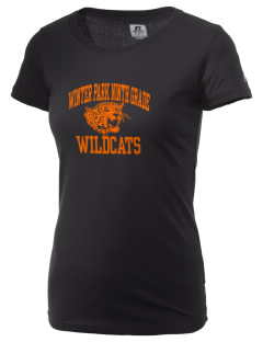 Winter Park Ninth Grade Center Wildcats  Russell Women's Campus T-Shirt