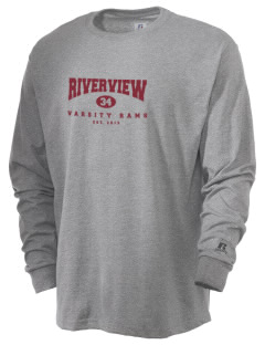 Riverview High School Rams  Russell Men's Long Sleeve T-Shirt