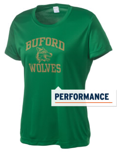 Buford High School Wolves Women's Competitor Performance T-Shirt