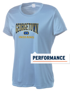 Georgetown Elementary School Indians Women's Competitor Performance T-Shirt