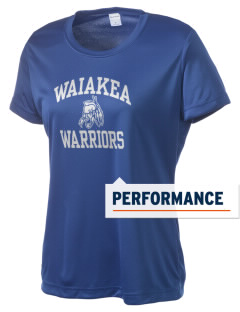 Waiakea High School Warriors Women's Competitor Performance T-Shirt