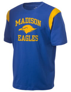 Madison Elementary School Eagles Holloway Men's Rush T-Shirt