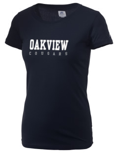 Oakview Community School Cougars  Russell Women's Campus T-Shirt