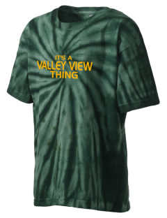 Valley View High School Vikings Kid's Tie-Dye T-Shirt
