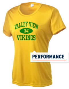 Valley View High School Vikings Women's Competitor Performance T-Shirt