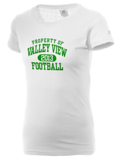 Valley View High School Vikings  Russell Women's Campus T-Shirt