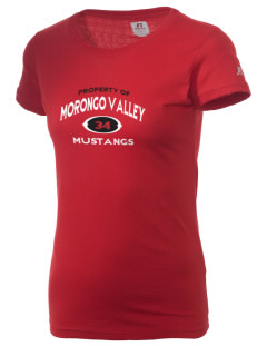 Morongo Valley Elementary School Mustangs  Russell Women's Campus T-Shirt