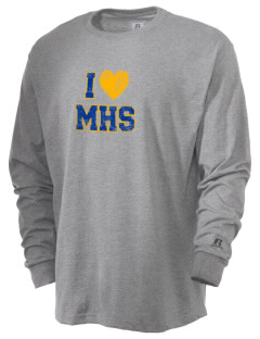 Milor Continuation Senior High School Mustangs  Russell Men's Long Sleeve T-Shirt