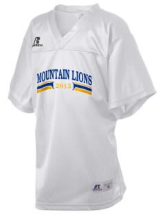 Meridian Elementary School Mountain Lions Russell Kid's Replica Football Jersey