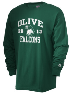 Olive Elementary School Falcons  Russell Men's Long Sleeve T-Shirt
