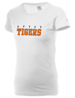 Aptos Middle School Tigers  Russell Women's Campus T-Shirt