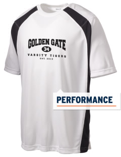 Golden Gate Elementary School Tigers Men's Dry Zone Colorblock T-Shirt