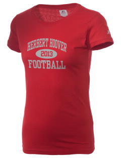 Herbert Hoover Middle School Hawks  Russell Women's Campus T-Shirt