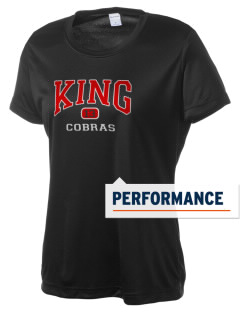 Martin Luther King Middle School Cobras Women's Competitor Performance T-Shirt