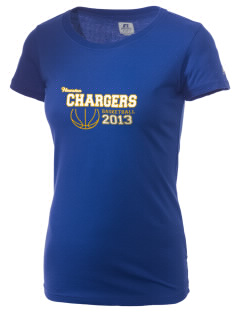 Houston Elementary School Chargers  Russell Women's Campus T-Shirt