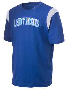 Leroy Nichols Elementary School Cougars Holloway Men's Rush T-Shirt