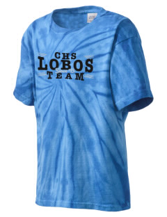 Calla Continuation High School Lobos Kid's Tie-Dye T-Shirt