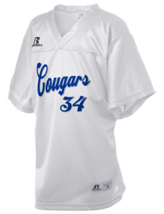 George H Flamson Middle School Cougars Russell Kid's Replica Football Jersey