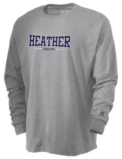Heather Elementary School Colts  Russell Men's Long Sleeve T-Shirt
