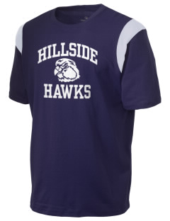 Hillside Elementary School Hawks Holloway Men's Rush T-Shirt