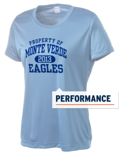 Monte Verde Elementary School Eagles Women's Competitor Performance T-Shirt