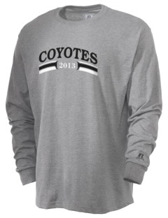 La Cuesta Continuation High School Coyotes  Russell Men's Long Sleeve T-Shirt