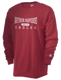 Arthur Hapgood Elementary School Eagles  Russell Men's Long Sleeve T-Shirt