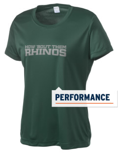 Samuel Curtis Rogers Middle School Rhinos Women's Competitor Performance T-Shirt