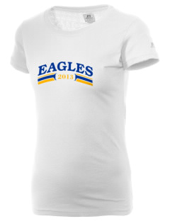 Central Continuation High School Eagles  Russell Women's Campus T-Shirt