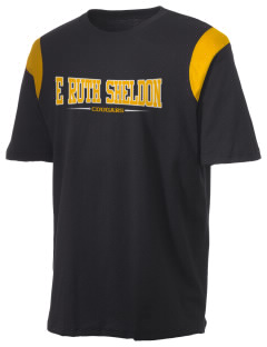 E Ruth Sheldon Elementary School Cougars Holloway Men's Rush T-Shirt