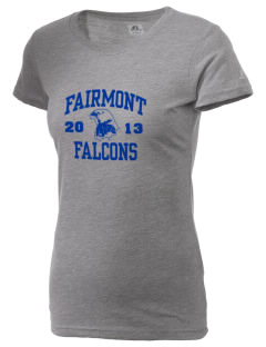 Fairmont Elementary School Falcons  Russell Women's Campus T-Shirt