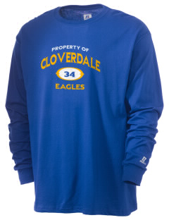 Cloverdale High School Eagles  Russell Men's Long Sleeve T-Shirt