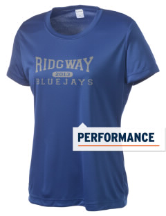 Ridgway School Bluejays Women's Competitor Performance T-Shirt