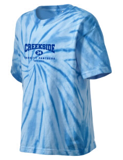 Creekside Middle School Panthers Kid's Tie-Dye T-Shirt